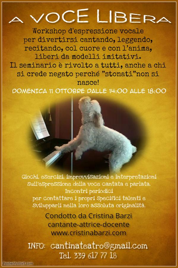 a voce libera flyer 11 ottobre